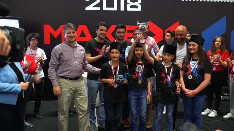 Middle School Winner Team Kodla Ardahan