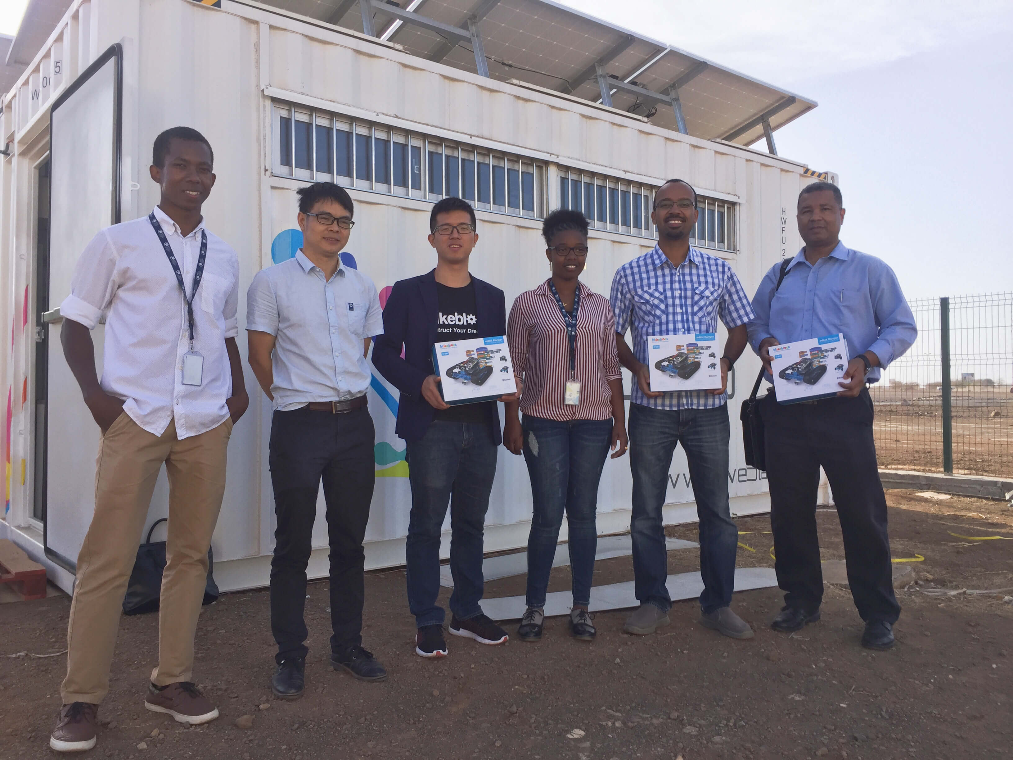 Makeblock Joins Forces with NOSI to Bridge STEAM Education Gap in Cape Verde, Africa