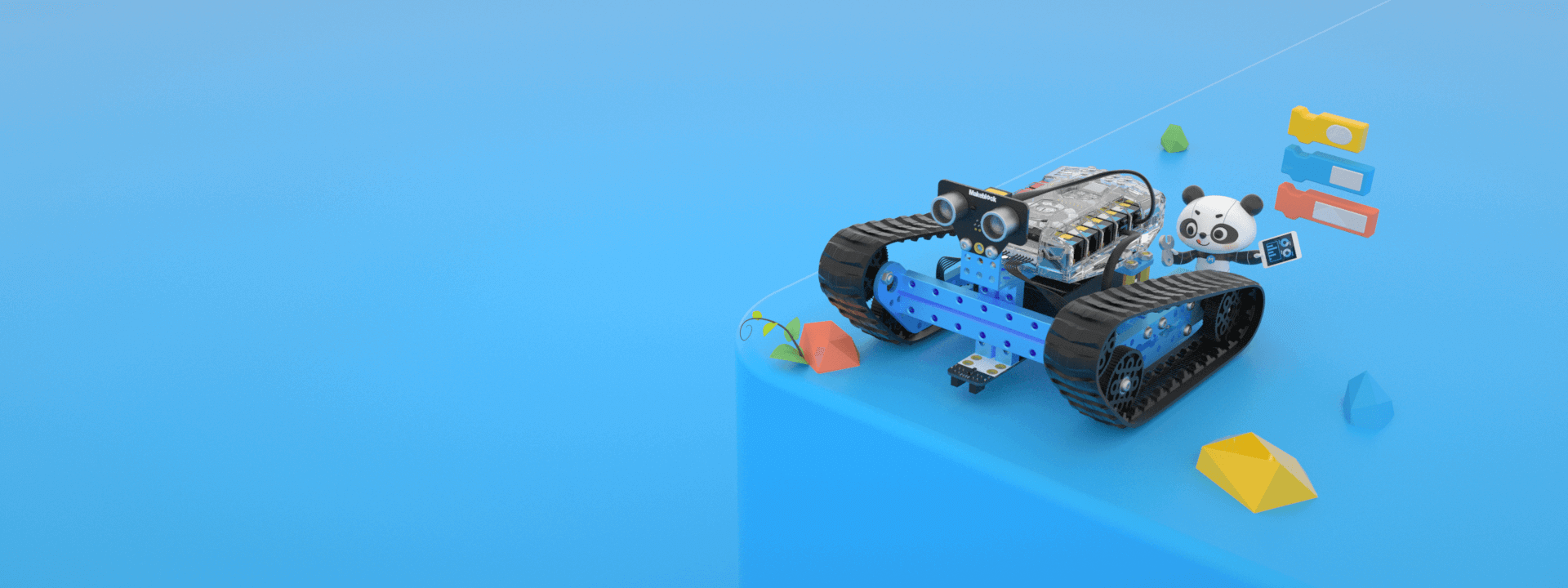 Mbot Ranger Makeblock Global Steam Education Solution Provider Rover Remote Starter Diagram Allows Children To Receive In A Simple And Fun Way Also Gets Started On Robot Programming Advancing With Them