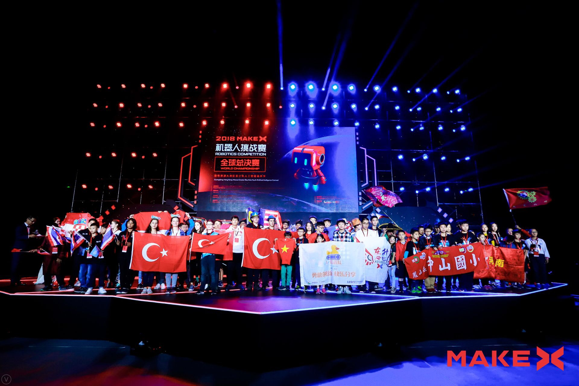 2018 MakeX World Championship Successfully Held in Guangzhou