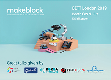 Makeblock Showcases Award-Winning STEAM Education Solutions at BETT London 2019