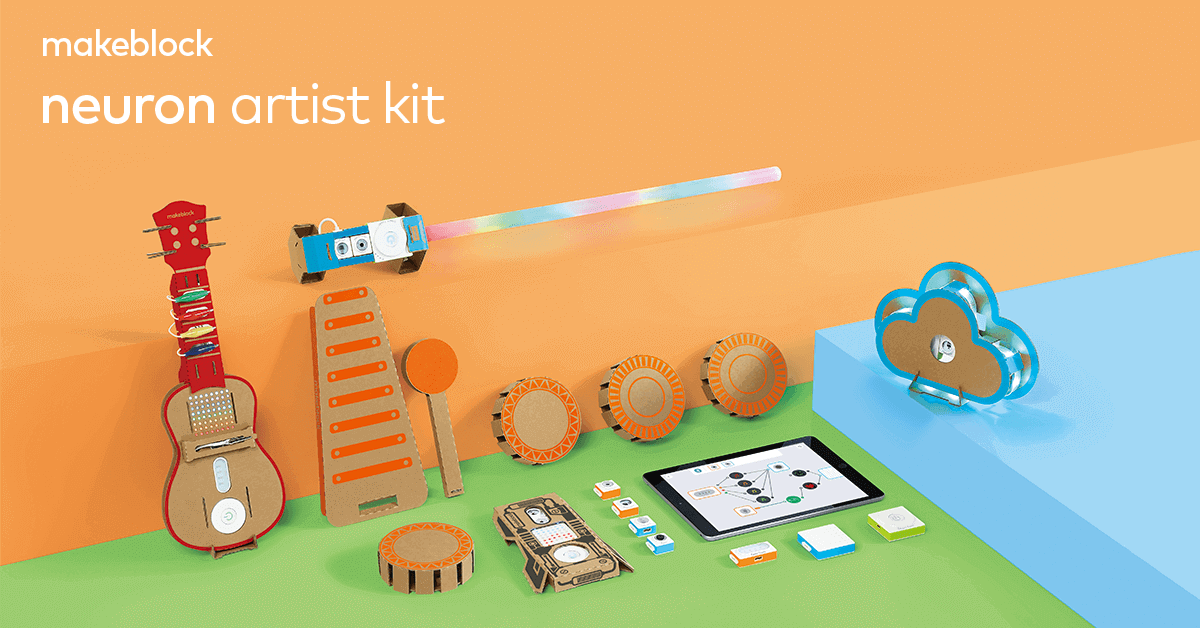 Introducing Makeblock Neuron Artist Kit