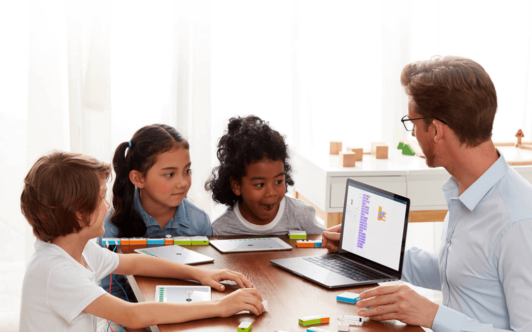 Kids are learning coding