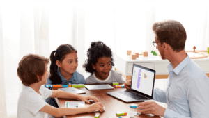 teach kids how to use programming robotics kits