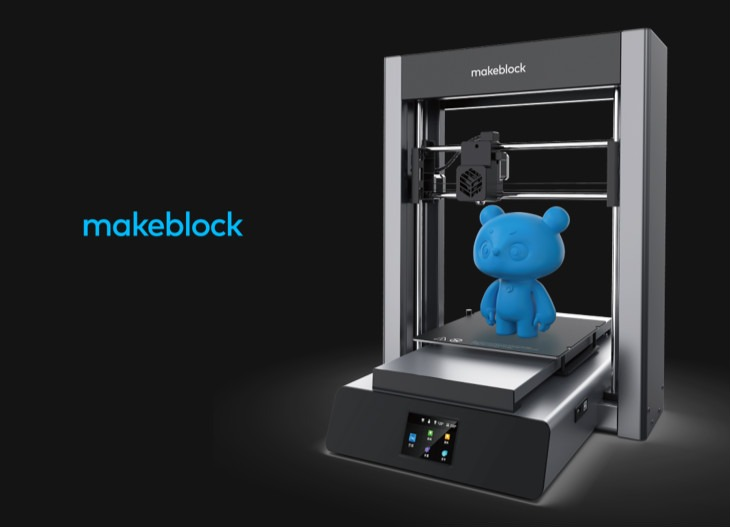 Makeblock Launches  mCreate 3D Printer in 2019 Maker Faire Rome